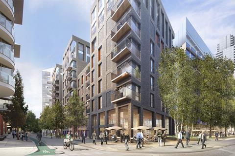 Terry Farrell designs for North Wharf Gardens, Paddington
